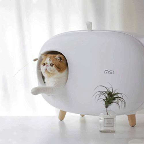 HYX Selbstreinigende Katzentoilette Wiederverwendbare Deodorant...