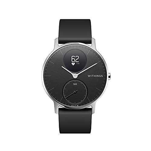 Withings Steel HR - Hybrid Smartwatch - Aktivitätstracker mit Connected GPS, Herzfrequenzmessungen, Schlafüberwachung, Smartphone-Benachrichtigungen, wasserdicht und einer Akkulaufzeit von 25 Tagen