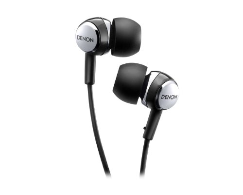 DENON AH-C260 Black | In-Ear Stereo Headphones (Japan Import)