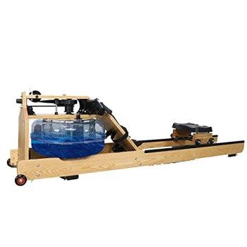 Sijux 2021 Rameur d'eau Pliable, Rameur D'appartement Pliable Rameur À Eau, Écran LCD, Équipement d'exercice À Domicile pour L'entraînement Aérobie