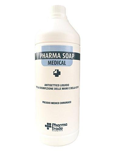 Pharma Soap Disinfettante e detergente liquido antisettico per la disinfezione delle mani e della pelle 1000ml