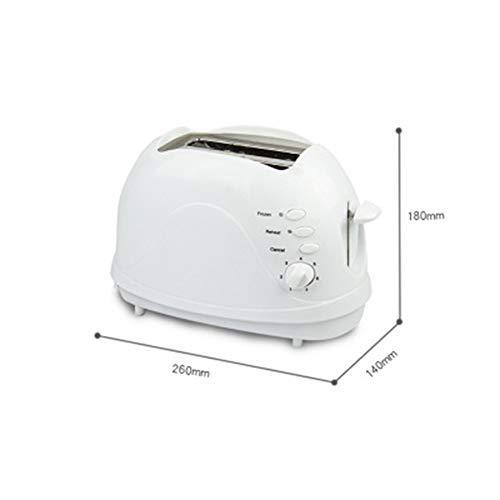FXX Tostapane, 2 Slice Toaster, Matrimoniale Extra Fessura Larga Piccolo Mini Tostapane con...