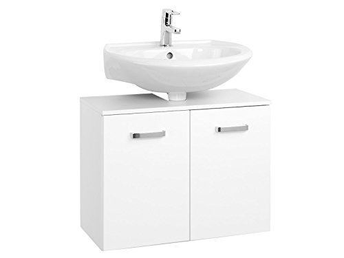 Waschbeckenunterschrank Unterbeckenschrank Badmöbel Bad Badezimmer Bologna III (70 cm)
