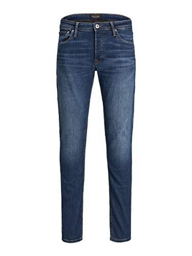 JACK & JONES Jjiglenn Jjoriginal Am 814 Noos Jeans Slim, Blu Scuro, 33W / 32L Uomo