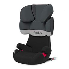 Cybex Silver Solution X-Fix 514116011 Seggiolino Auto per Bambini, Gruppo 2 / 3, Gray Rabbit / Dark Grey