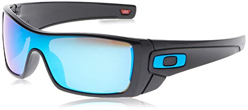 Oakley Batwolf 910158 Gafas de Sol, Polished Black, 127 para Hombre
