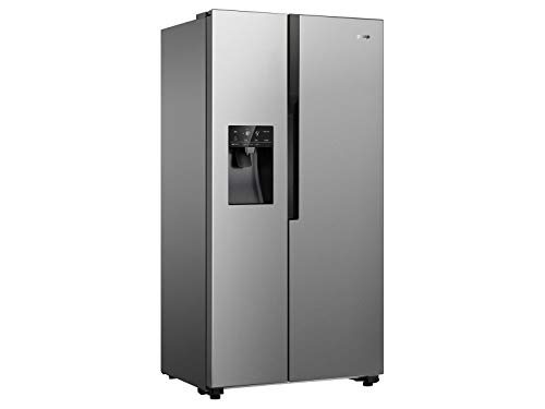 Gorenje NRS 9182 VX Side by Side Kühl-Gefrierkombination Inox