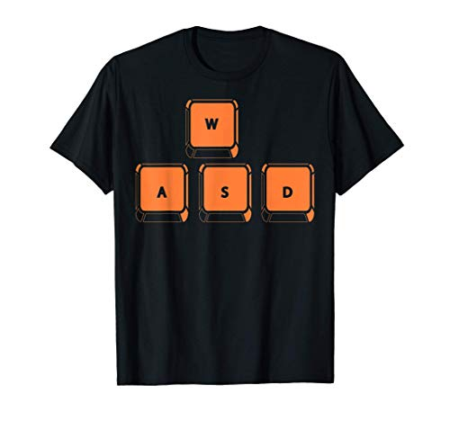 WASD Keys PC Gaming | Cute Online Gaming Funny Gift T-Shirt