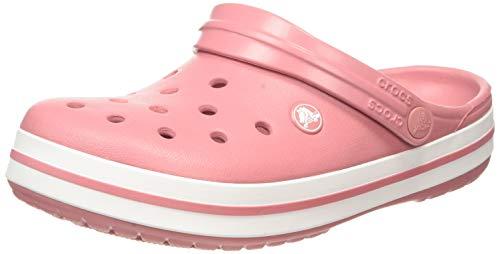 crocs Unisex-Erwachsene Crocband U\' Clogs, Rosa (Blossom/White 6ph), 39/40 EU