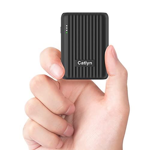 Power Bank 10000mAh, Caricatore Portatile Mini USB...