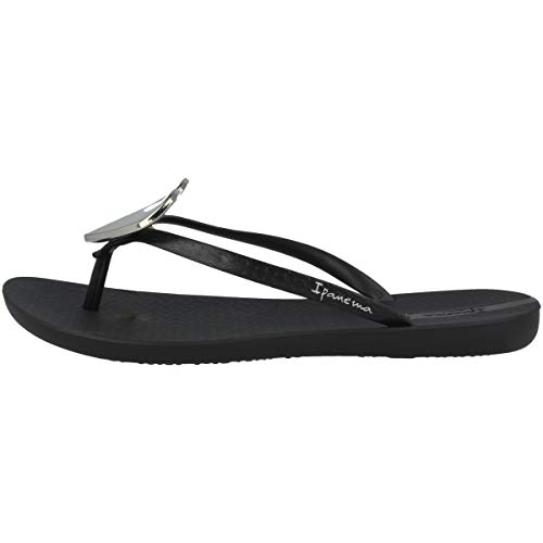 Ipanema Maxi Fashion II Fem, Chanclas Mujer, 8041 Black, 38 EU