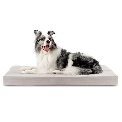 ZENAPOKI Dreamzie Cuccia per Cani - L Ortopedico, Cuccia per Le articolazioni - Cuscino per Cani Memory Foam, Cuccia per Cani Gel regolatore di Temperatura