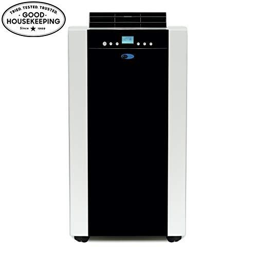 Whynter - Aire Acondicionado portátil con Manguera Dual de 14,000 BTU, Respetuoso con el Medio Ambiente, con Bolsa de Almacenamiento, Color Negro, Platinum and Black, 1