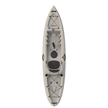 Emotion Stealth Angler Fishing Kayak, Sandstone, 11'