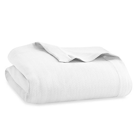 Wamsutta MICRO COTTON Dream Zone Blanket (KING, WHITE)