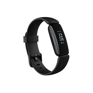 Fitbit Inspire 2 Health & Fitness Tracker with a Free 1-Year Fitbit Premium Trial, 24/7 Heart Rate, Black/Black, One…