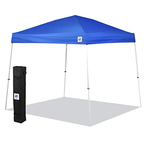 E-Z UP SR9104BL Sierra II 10 by 10-Feet Canopy, Blue, Royal...