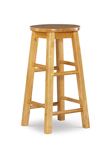 Linon Counter stool with Round Seat