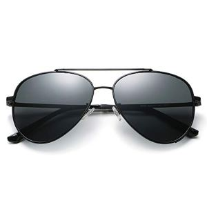 Enjoy& Aviator Sunglasses Classic Polarized UV Protection Hip-hop Mirror Driving Party Fashion Leisure Sunglasses