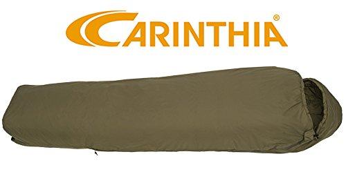 Carinthia Tropen leichter 3 Saison Schlafsack Jagd & Wildniss Armeeschlafsack Olive (185 cm) by Carinthia