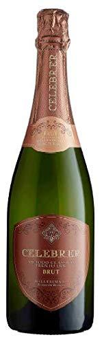 CELEBRER Vino Bianco Metodo Classico TRENTO DOC MILLESIMATO 2016 BOTT 75 CL - IMBALLO DA 6 BOTTIGLIE DA 75 CL