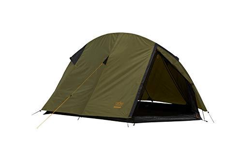 Grand Canyon CARDOVA 1 - Tunnelzelt für 1-2 Personen | Ultra-leicht, wasserdicht, kleines Packmaß | Zelt für Trekking, Camping, Outdoor | Capulet Olive (Grün)