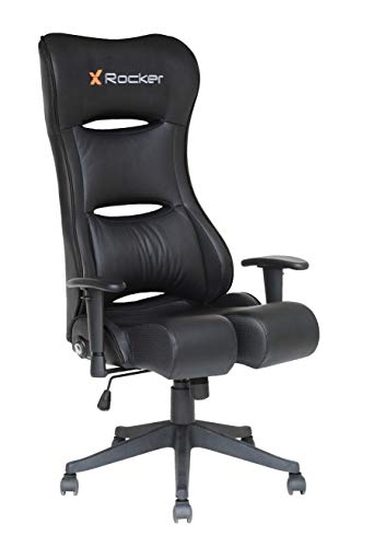 X Rocker PCXR3 PC Office Gaming Chair with Audio, 28.74' x 27.56' x 51.57', Black