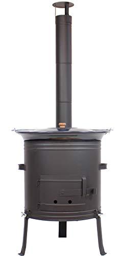 Grillplanet Gulaschkessel Gulaschkanone mit 30 Liter...