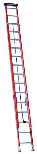 Louisville Ladder 28-Foot Fiberglass Extension...