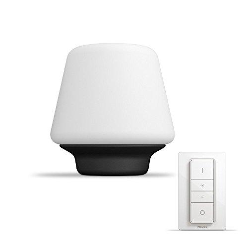 Philips Lighting Hue White Ambiance Wellness Lampada da Tavolo LED Smart, Attacco E27, 15 W,...