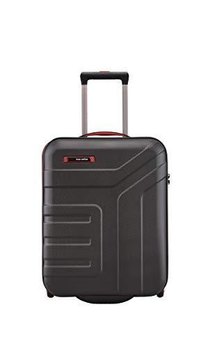 Travelite VECTOR - Trolley rigido e beauty case in 4 colori alla moda, 55 cm, 44 l, colore: nero