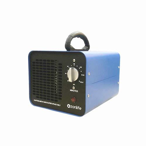 Profi 10.000mg/Std. Kommerzieller Ozongenerator Geruchskiller Ozon Luftreiniger mit Timer für Zimmer, Rauch, Autos und Haustiere