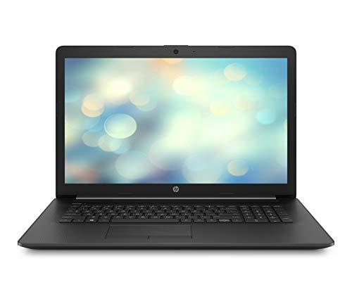 HP 17-by1220ng (17,3 Zoll / HD+) Notebook (Intel Core i5-8265U, 8GB DDR4 RAM, 256GB SSD, Intel UHD Grafik 620, Windows 10 Home) schwarz