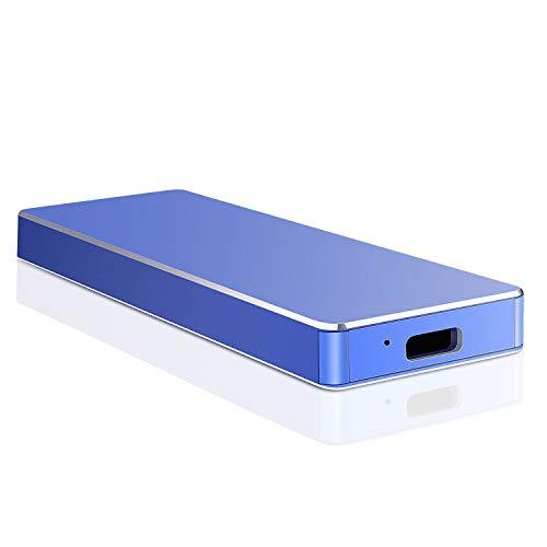 Hard Disk 2 TB Esterno, Hard Disk Esterno USB-C 3.1 per PC, Mac, Xbox, Desktop, Laptop, MacBook,...