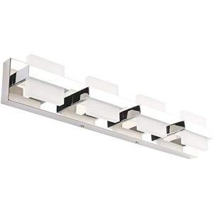 SOLFART Modern 4 Lights LED Vanity Lights for Bathroom Wall Light Fixture Decor Accessories