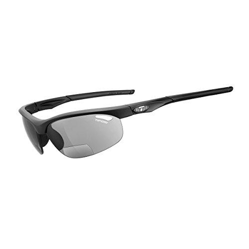 Tifosi Veloce Reader Sunglasses, Matte Black, (Smoke +1.5 Multiplier)