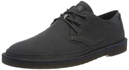 Camper Morrys, Zapatos de Cordones Derby Hombre, Negro (Charcoal 10), 43 EU