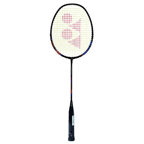 Yonex Nanoray 18I Badminton Raquet (Black, Graphite, G4 - 77g, 30 lbs Tension)