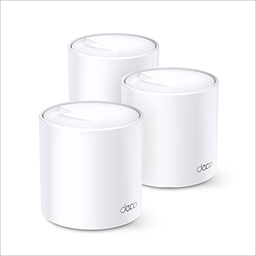 TP-Link Deco X20 Dual Band Next-Gen Wi-Fi 6 Mesh, AX1800 Whole Home WiFi System, Covers up to 5800...