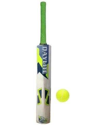 JRS Kids Cricket Bat with Ball for Kids Size 1 (Sticker multibrands) 3-5 Years Boys