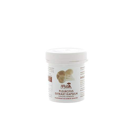 Hawlik Vitalpilze - Pleurotus Extrakt - 60 Kapseln - 300mg Vitalpilz Extrakt - GMP Qualität
