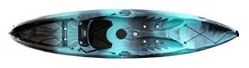 perception Kayaks Tribe 11.5 | Sit on Top Kayak for All-Around Fun | Large Rear Storage with Tie Downs | 11' 5"