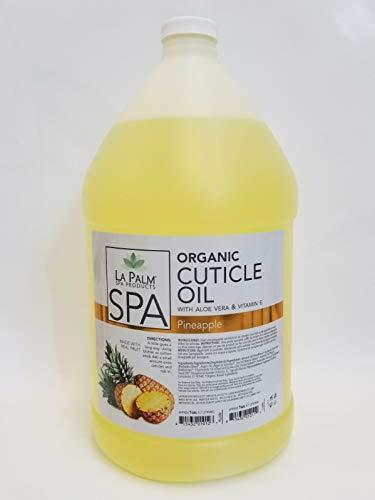 La Palm Spa Organic Cuticle Oil Pineapple 1 Gallon