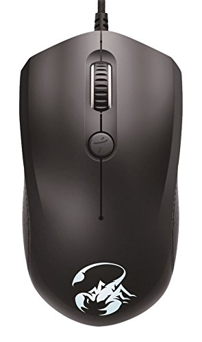 Genius Scorpion M6-400 Gaming Mouse - Ratón (Ambidextro, Óptico, USB, 5000 dpi, Negro)