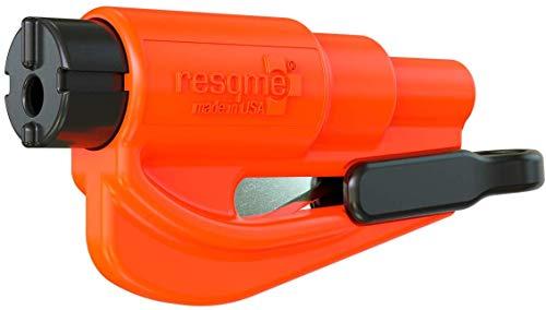 Resqme GBO-RQM-ORANGE Das Rettungswerkzeug als Schlüsselanhänger, Orange, 1er-Set
