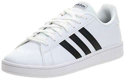 adidas Grand Court Base, Zapatos de Tenis Hombre, Ftwbla Negbás Azuosc, 42 EU