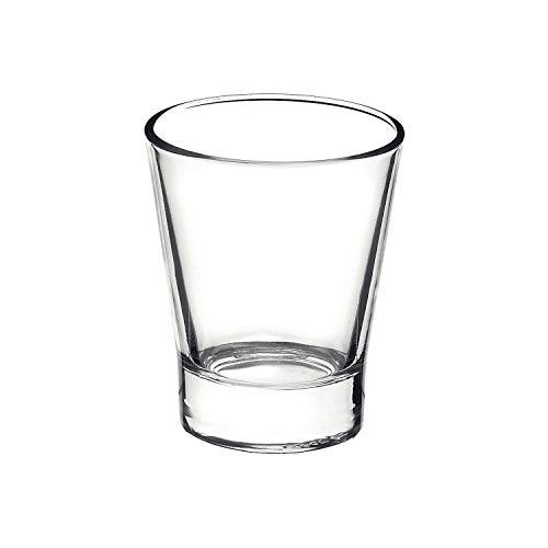Rocco Bormioli Bormioli Rocco 1329309 Borm Confezioni 6 Bicchieri per Caffeino, 9 cl, Bamboo