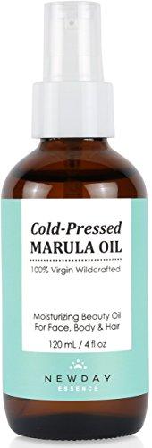 Marula Oil 100% Pure Virgin (4 oz Large) Cold...