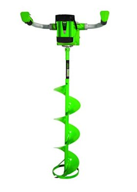 ION 19150 40V 3 amp-hour Electric 8-Inch Ice Auger, with...