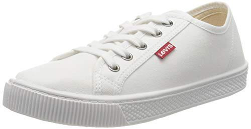 Levi's Malibu Beach S, Zapatillas Mujer, Blanco (B White 50), 38 EU